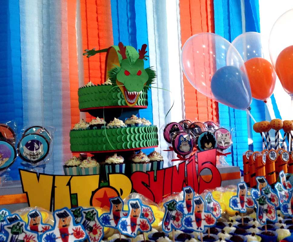 Dragon Ball Z Party Decorations
