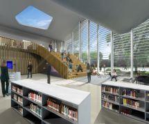 School Library Interior Design