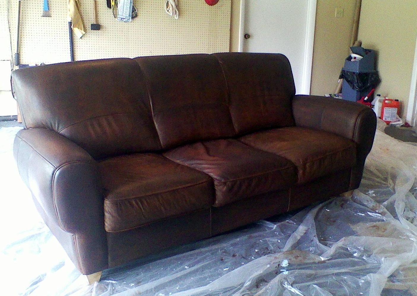 what can i use to clean my black leather sofa cushion covers amazon weeds how dye or stain furniture
