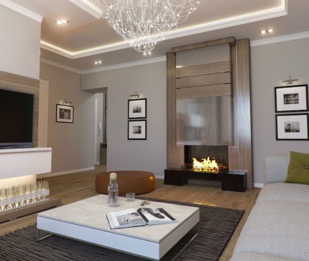 moderne deckenbeleuchtung wohnzimmer ideen zur