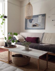 Love the palette especially that little pop of claret in form  lumbar also rh za pinterest