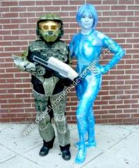 Coolest Homemade Cortana Costume | Master chief, Costumes ...