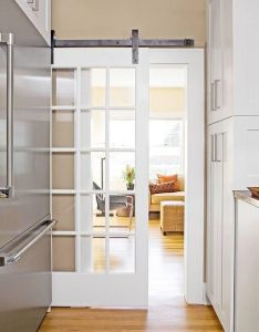 Sliding door in the house love this also home  outdoor design rh pinterest