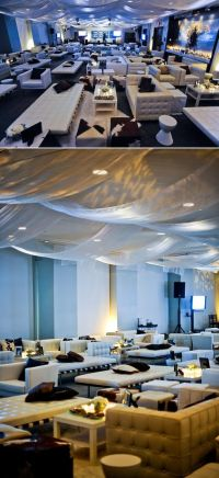 Statement Making Fabric Ceiling Treatments  Alexan Events ...