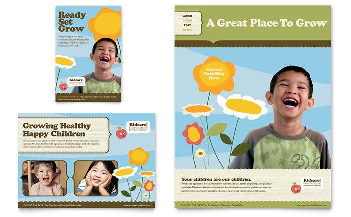 preschool advertising ideas  Daycare Advertisements