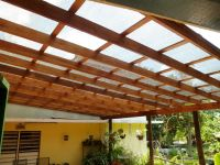 Pergola covered with high grade shade cloth. | Pergola ...