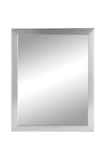 NuTone 781005 Hudson Framed Medicine Cabinet, Satin Chrome