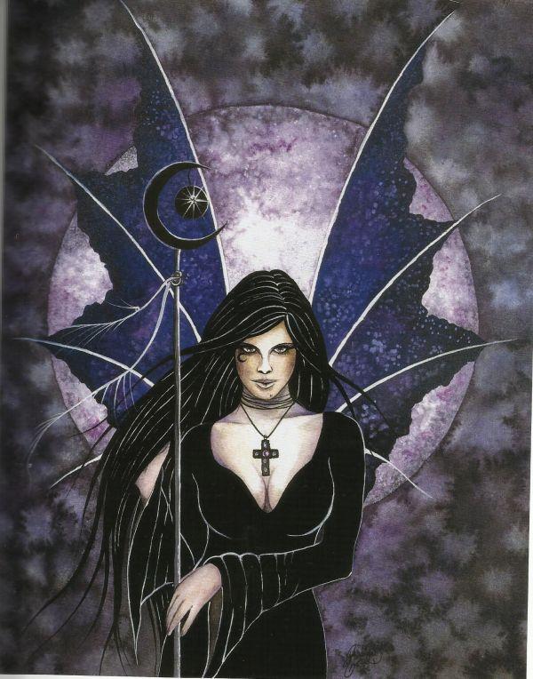 "Gothic Fairy - Bing Fairies World Of ""fantasy"