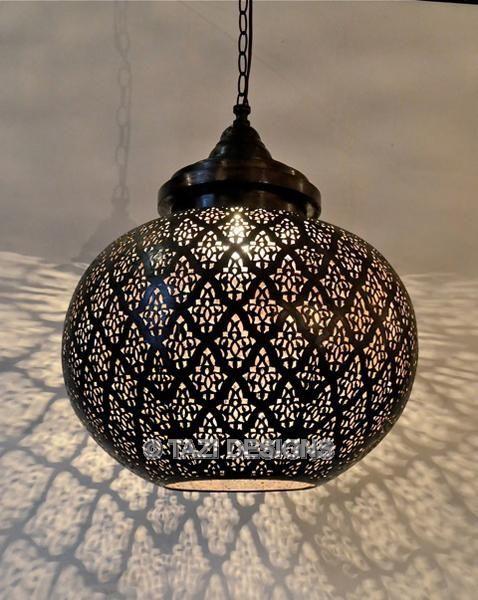 Modern Moroccan Pendant Light Dahon Sphere Lamps Lanterns Lighting Tazi Designs On Wanelo