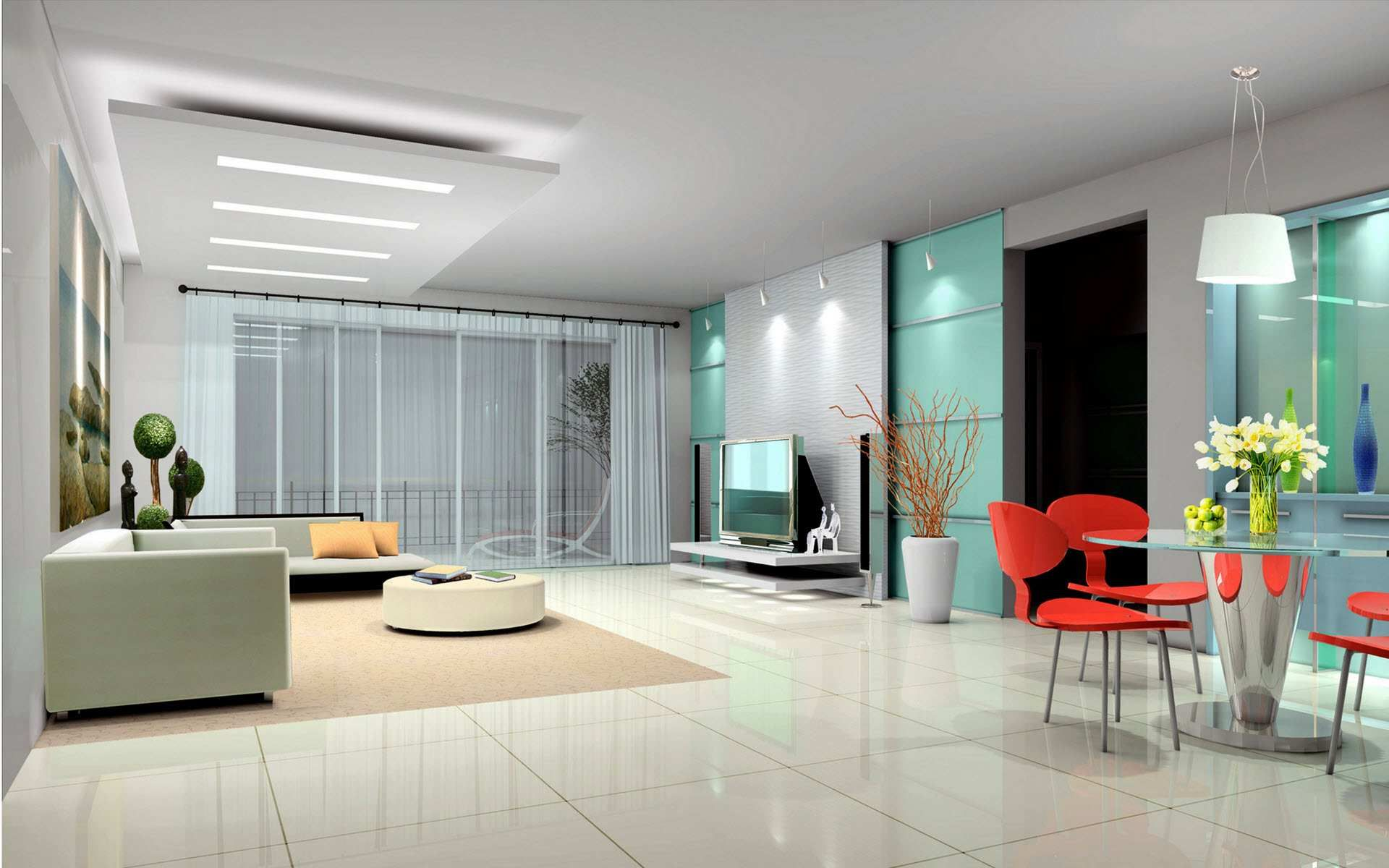Contemporary Interior Design Pictures & Photos Living Room