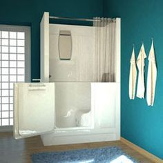 walk in tub shower combo  home bath tubs showers meditub