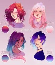 fav gradient hair