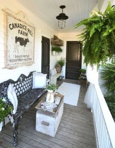 House also laurieanna   vintage home back door guests are best little spare rh pinterest
