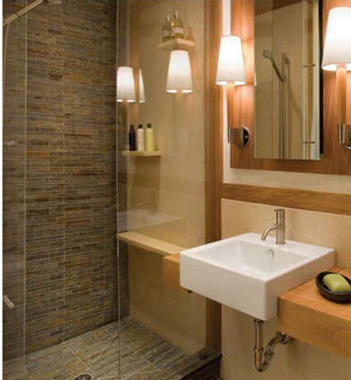 Bathroom Small Bathroom Corner Shower Interior Design Small
