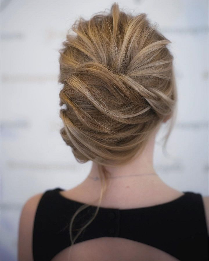 This chic french twist updo hairstyle perfect for any