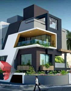 Mau biet thu dep hien dai  modern evler pinterest architecture bathroom layout and house elevation also rh