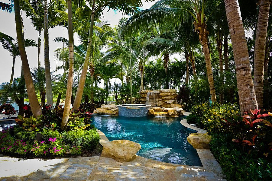 Tropical Pool And Greenery Around It Allow You To Enjoy A
