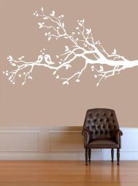White Tree Wall Stickers - [peenmedia.com]