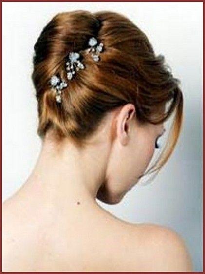 French Twist Wedding Hairstyle bridal make beautiful 1