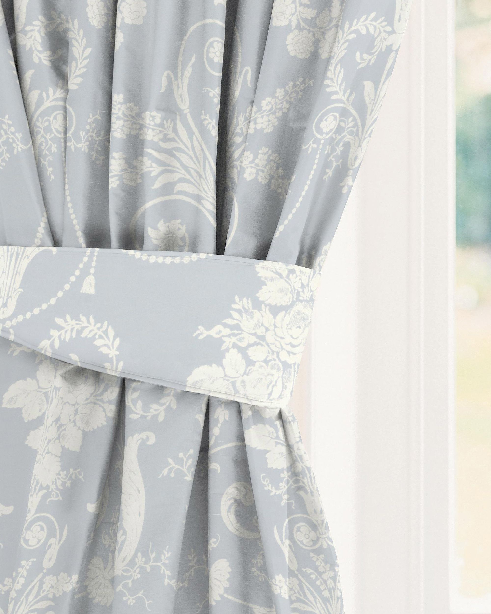 Made To Measure Curtains In Josette Seaspray Laura Ashley Home