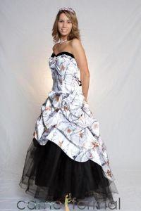 camouflage prom dresses | snow camo camouflage snow ...