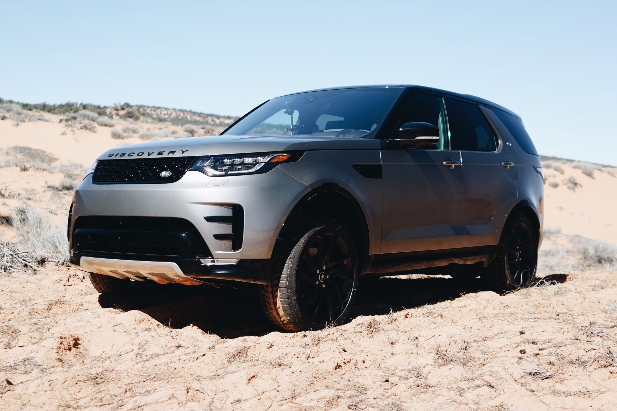 the road and off in the 2017 Land Rover Discovery