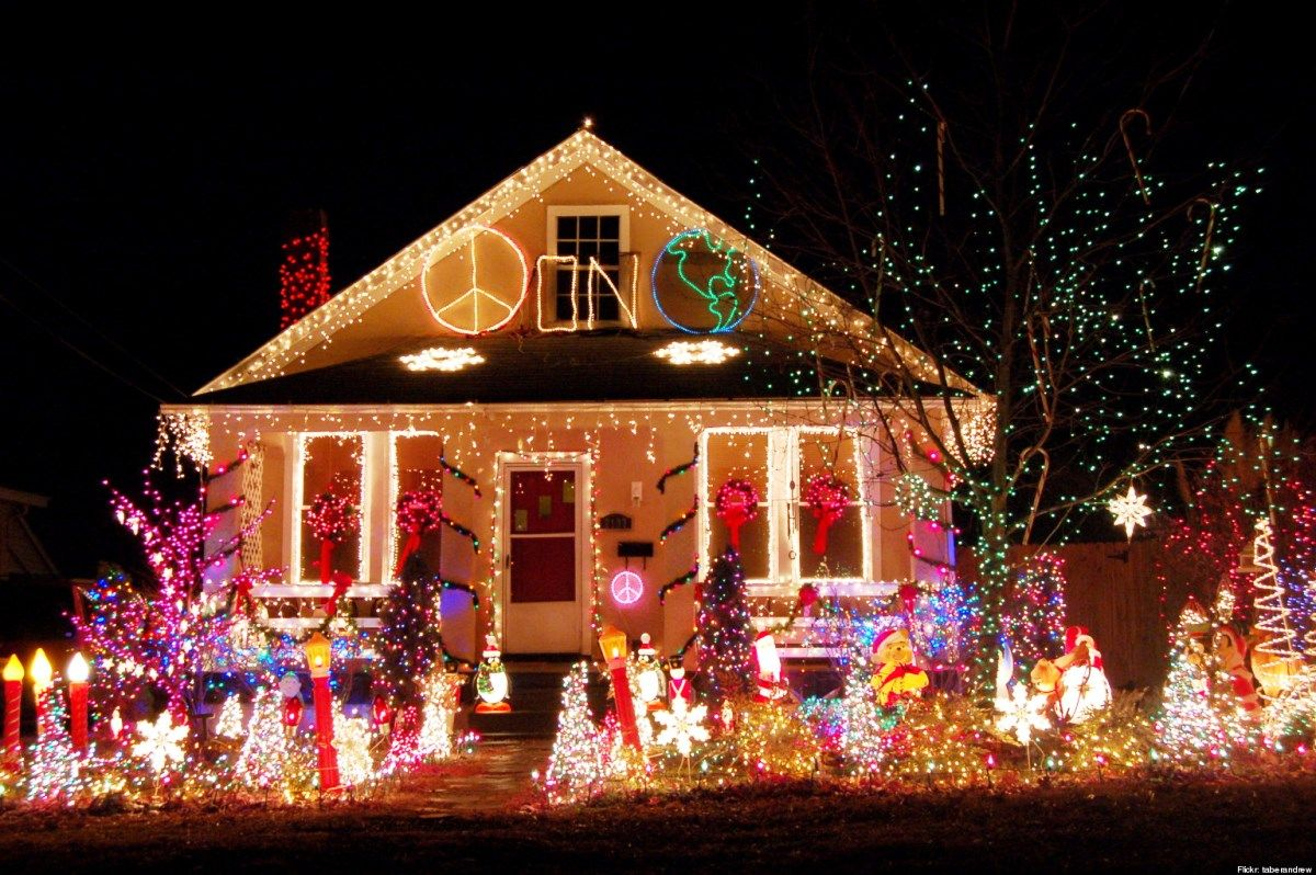 House Decorating Ideas For Christmas For Outside House Style