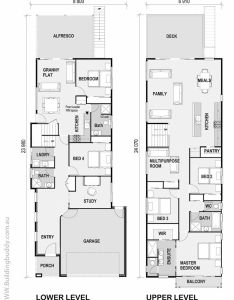 Rock felt fern small lot house floorplan by http buildingbuddy narrow planshouse floor also www rh pinterest