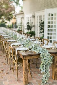 Rustic garden styled engagement party - Rustic bridal ...