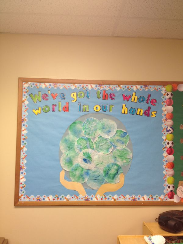 Earth Day Bulletin Board Marcia And Created Preschool