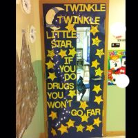 Red Ribbon Week Door Decorating Contest- winner again! I ...