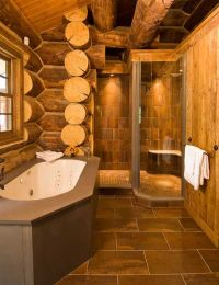 Log Cabin Master Bathrooms | www.pixshark.com - Images ...