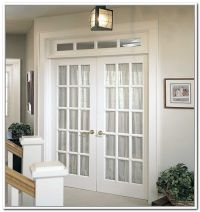 Interior French Doors Transom | For the kitchen ...