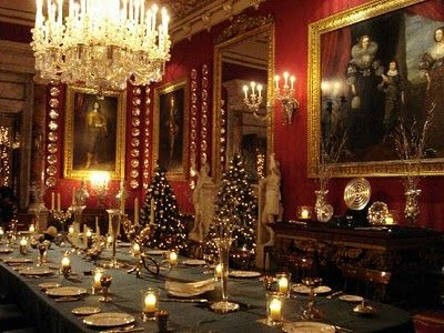 Victorian Dining Room  Dining Room and Damask