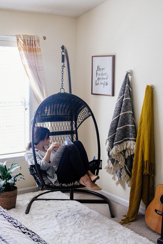 Best 25 Hanging chair stand ideas on Pinterest  Hammock chair with stand Indoor chair