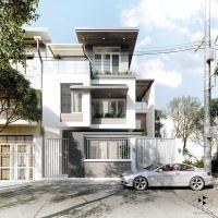 Modern House Exterior Design Modern Tropical House Design ...