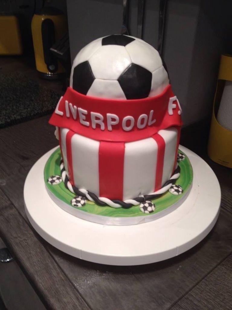 Liverpool F C Cake Cakes Pinterest Cake Cake Boss