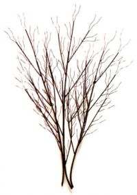 large tree branch wall art   Winter Grove Large Metal Wall ...