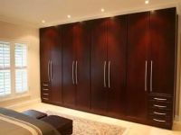 Simple traditional wardrobe brown wooden design ideas ...
