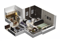 10 great plans for small apartment interior design   Small ...