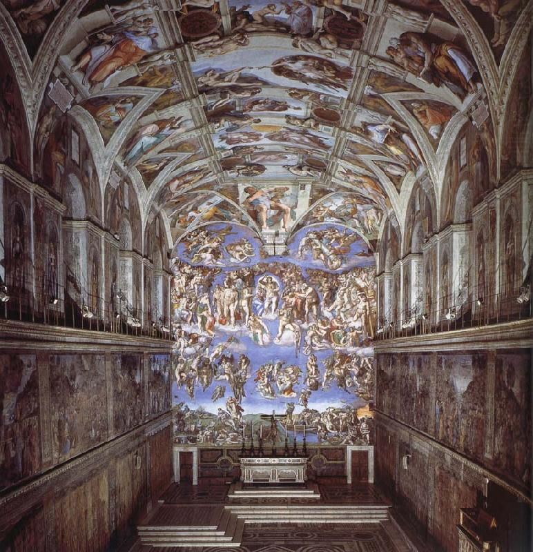 Painting Michelangelo Ceiling Tiles Nakedsnakepress