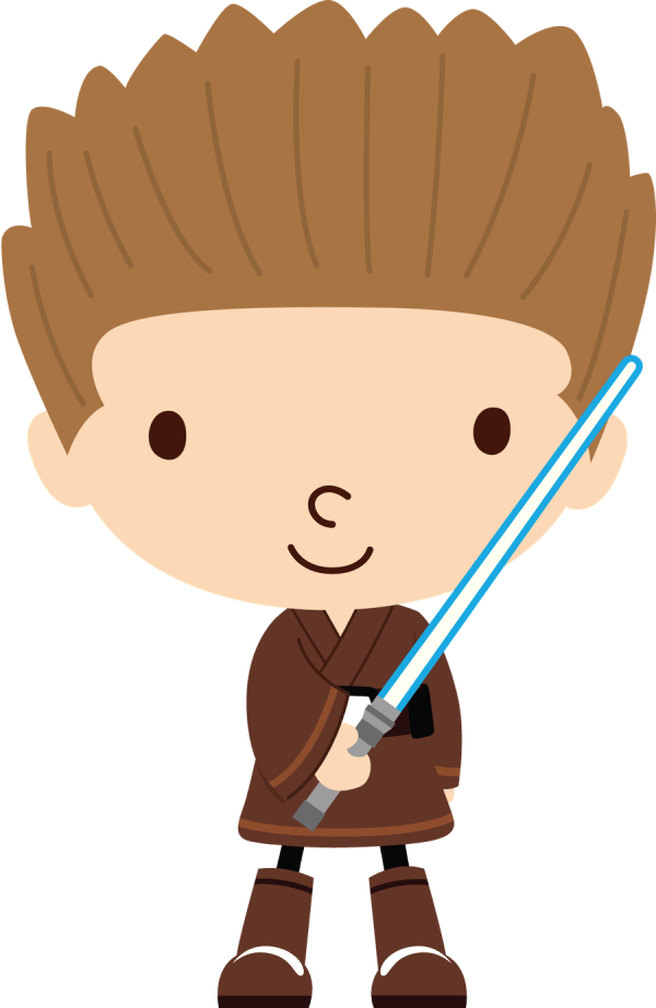 Star Wars - Felt- Characters 2 Clip Art And Cricut