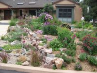 front yard CREATIVE IDEAS DRY CREEK BED FROM DOWN SPOUT ...