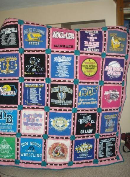 T Shirt Quilt Border
