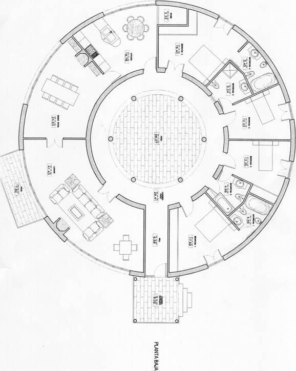 Round House Plans Round House Floor Plans House Plans Art