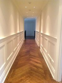 Wood panelling, walls and ceilings all painted by NGI ...