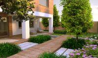 Contemporary Garden Design Idea