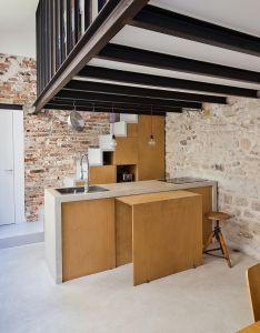 Gallery of transformation   un atelier en loft nzi architectes interior design inspirationdesign ideaskitchen also rh pinterest