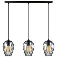 Eglo (49477) Black Newtown Breakfast Bar Light | Lights ...