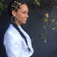 Best Celebrity Braids Of 2017 (So Far) | Alicia keys, Key ...